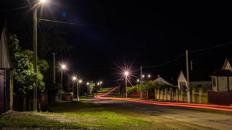 Фотография в Кармаскалинском районе: Летняя ночь на улице Чапаева села Кармаскалы