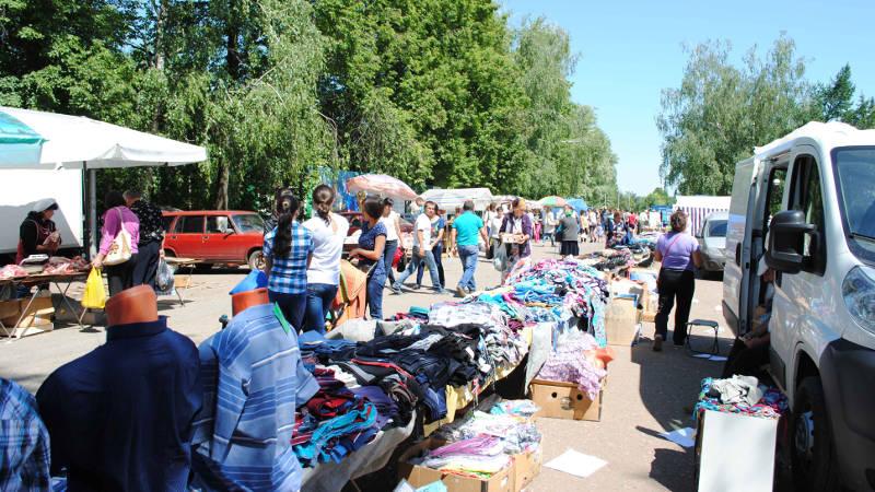 Фотография в Кармаскалинском районе: Ярмарка в Кармаскалах